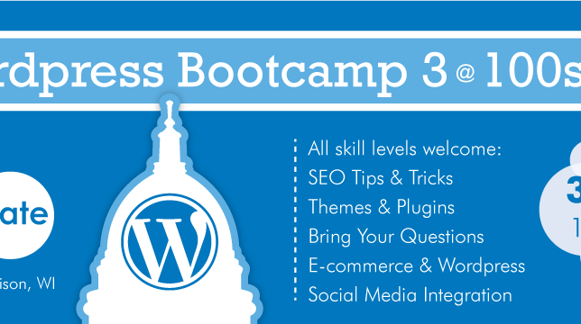 worpress bootcamp madison