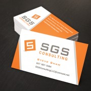 Branding, Logo Design and Business Card Design for consulting firm