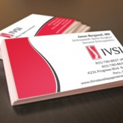 Custom business card graphic design