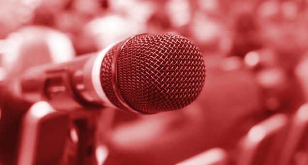 Microphone - Fear of Public Speaking