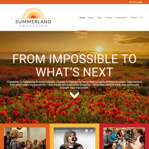 Summerland Education WordPress Website