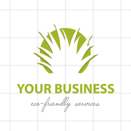 Organic Eco-friendly Business Logo