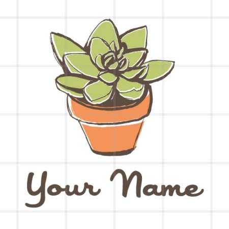 Natural Succulent Logo