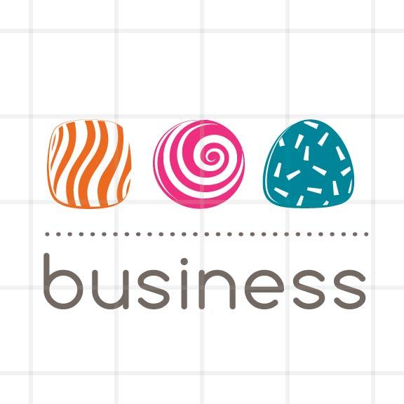 yum yum candy store logo design bizzy bizzy an