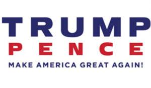 New Trump Pence logo