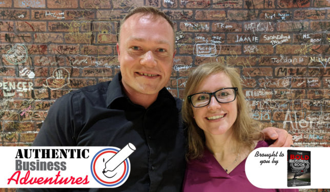 James Kademan and Candy Phelps on entrepreneurship podcast
