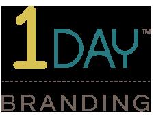 1 Day Branding Logo