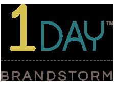 1 Day™ Brandstorm Logo