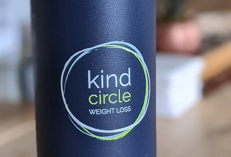Kind Circle Weight Loss logo | 1 Day Branding with Bizzy Bizzy