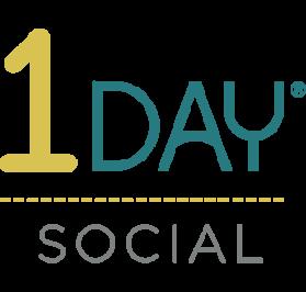 1 Day Social Media logo