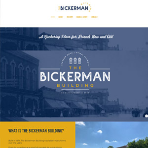1 Day Website for The Bickerman Building