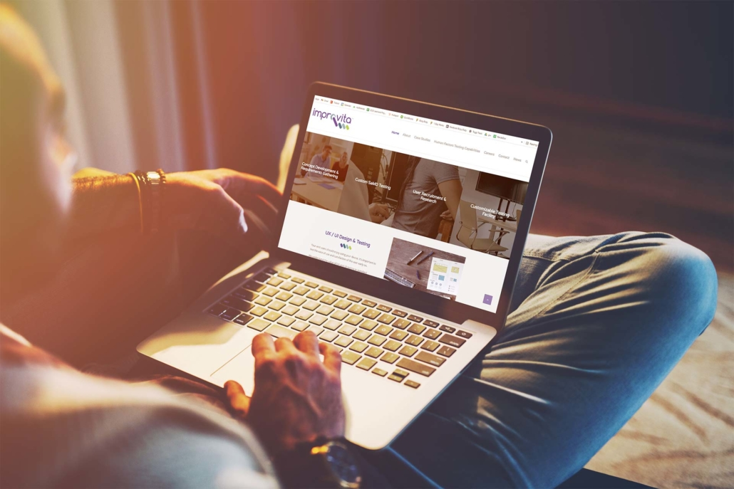 1 Day Website for Improvita - Medical Device Startup